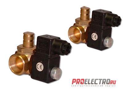 Клапаны электромагнитные MP16RM N.A, M16RMO N.C, M16RM N.C, M16RMO NA/NC, EVO/NC