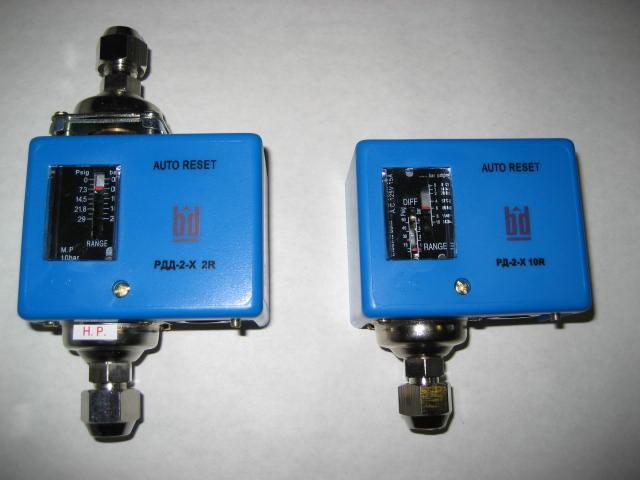 РДД -2X-4R/6R реле дифференциального давления (аналог ДЕМ 202 )