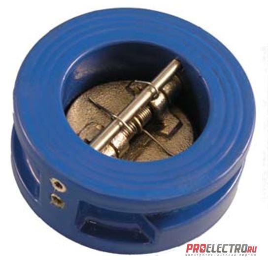 Межфланцевый двухдисковый обратный клапан – КО.