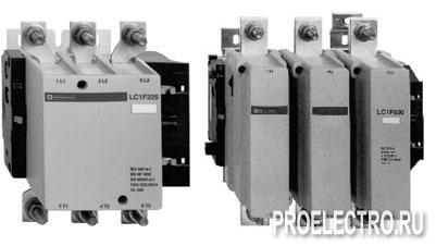 Контактор F 4Р (4НО), AC1 315А, 220V 50/60ГЦ/арт. LC1F2254M7 <strong>Schneider Electric</strong>
