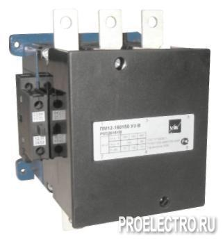 Контактор ПМ12, 160А, 160A, 380В | арт. PM12621YBX6M <strong>Schneider Electric</strong>