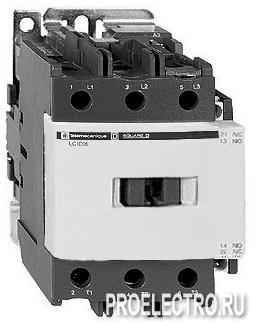 Контактор D 4P (4НО) АС1 40А НО+НЗ 220V- | арт. LC1DT40ML <strong>Schneider Electric</strong>