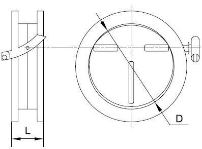 Клапаны обратные общего назначения серии 5.904-41