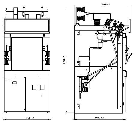 Камеры КСО-292, 298 применяются в качестве распределительных устройств напряжением 6 - 10 кВ, в том числе и...
