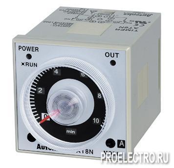 AT8N 24-240VAC Аналоговый таймер 0.05sec ~ 100hours, выход 2С