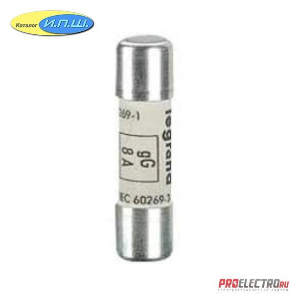 013302 <strong>Legrand</strong> - Предохранители / плавкие вставки 10x38mm; 500VAC; 10 kA; 2А