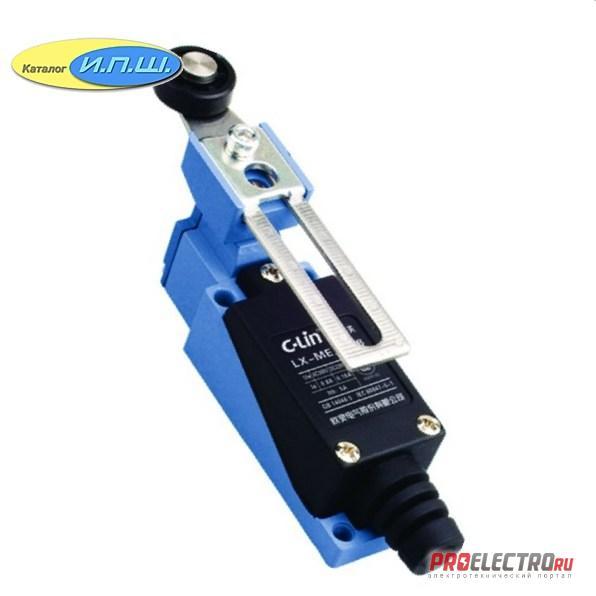 AZ8108 - Концевой выключатель / выключатель путевой, регулируемый ролик