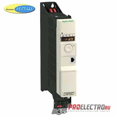 ATV32HU15M2  ПРЕОБР ЧАСТОТЫ ATV32 1.5КВТ 240В 1Ф  Schneider Electric
