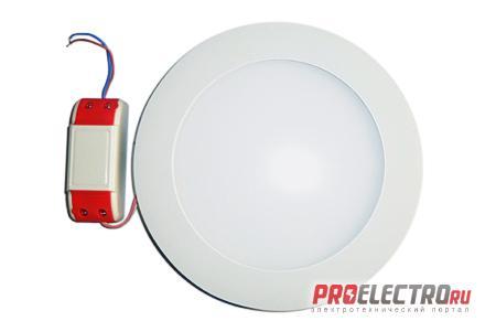 Ультратонкий светильник LC-D01W-10WW теплый белый