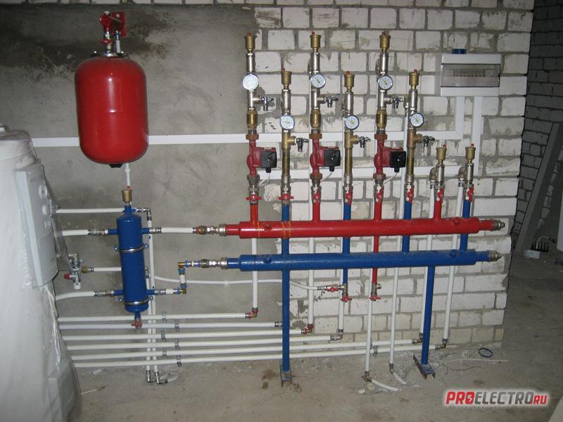 Газовое отопление частного дома своими руками фото