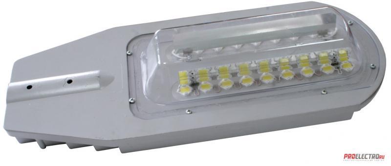 Серия светодиодных уличных светильников с марочным названием