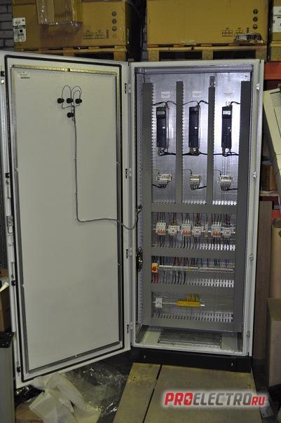 Сборка шкафов автоматики