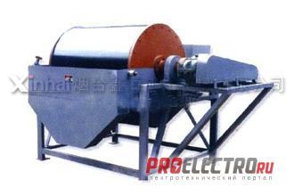 Сепаратор магнитный барабанный серии QCT