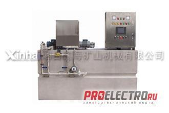 Автоматическая установка приготовления флокулянта