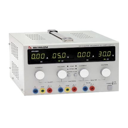 Блок питания АТН-3232 0-30V, 0-5A 1и 2 канал, 5V, 3A - 3 канал, АКТАКОМ