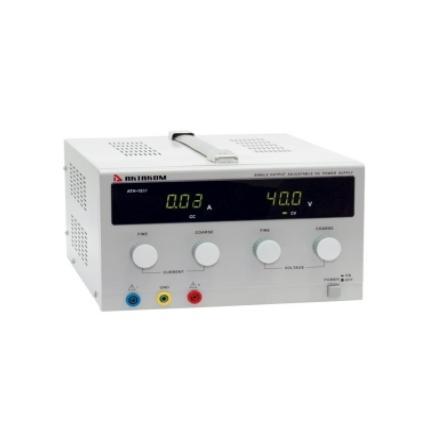 Блок питания АТН-1236В 300W, 0-30V, 0-10А, АКТАКОМ