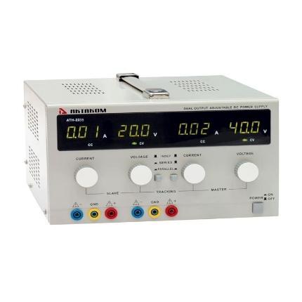Блок питания АТН-2235 0-30V, 0-5A, АКТАКОМ