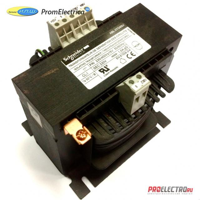 ABL6TS250U ТРАНСФОРМАТОР 230-400В 1X230В 2500ВA <strong>Schneider Electric</strong>
