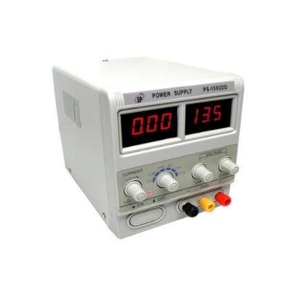 Блок питания PS-1502DD 30Ватт, 0-15V, 0-2А