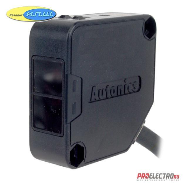 BEN300-DDT <strong>Autonics</strong> - фотодатчик NPN+PNP, NO+NC, 300мм, диффузный, 12-24VDC