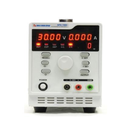 Блок питания APS-7303 90W, 0...3А, RS-232, АКТАКОМ