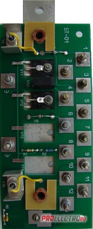 генераторов серии БГ и ГС