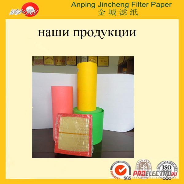 автомобильная воздушная фильтровальная бумага