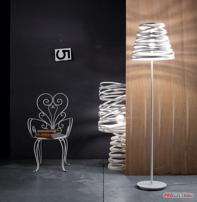 Curl My Light Floor LT1 Studio Italia Design торшер