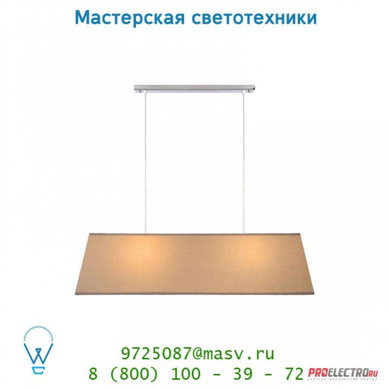 Lucide ROSS Hangel. 2xE27 L100 H32cm Taupe 06410/02/41 подвесной светильник