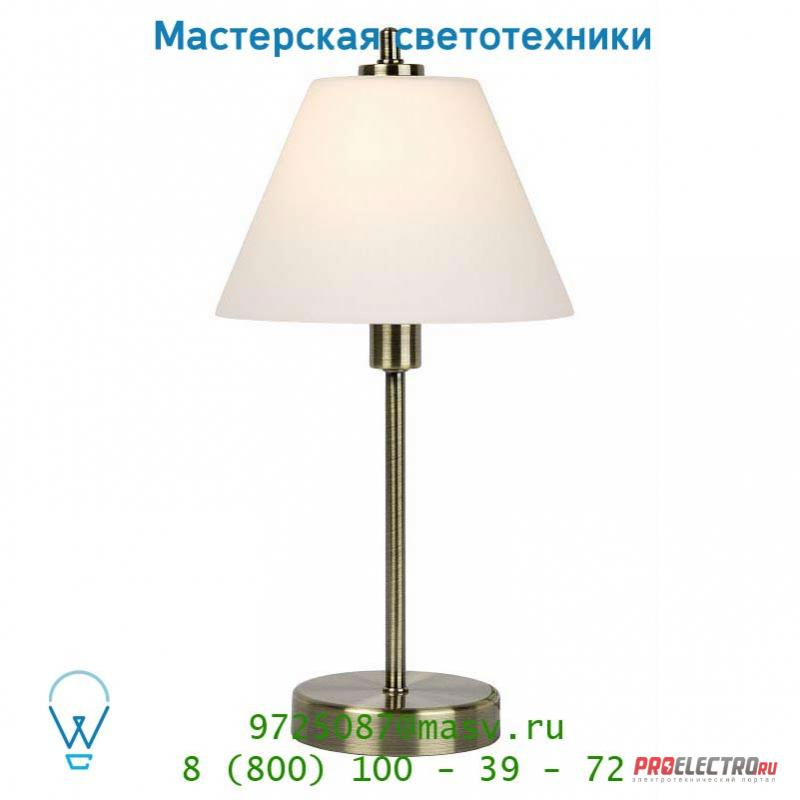 Lucide TOUCH TWO Tischl. E14/40W Bronze/Opale 12561/21/03 настольная лампа