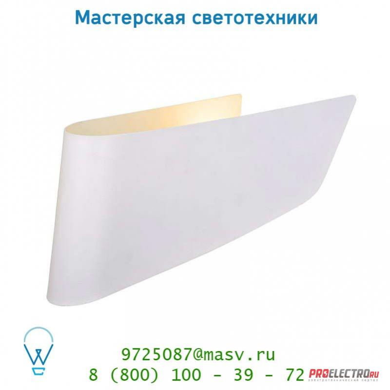 Lucide OLA Wandl. E14/11W excl 31/15/8cm Weiss настенный светильник 12203/01/31