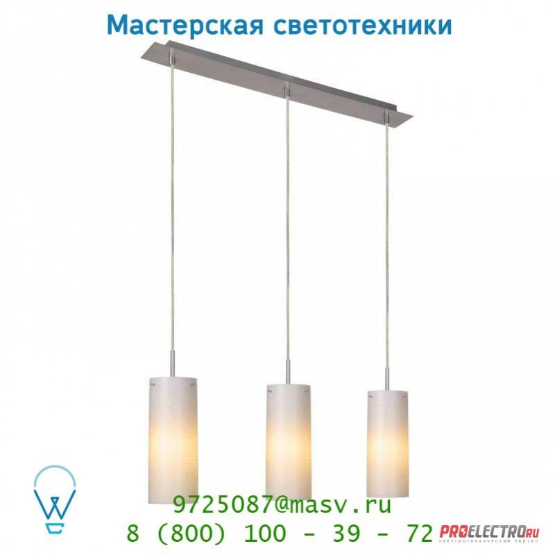 Lucide MISTO Hangel. 3xE14/9W incl Glas H25 D10 Weiss 12421/23/61 подвесной светильник