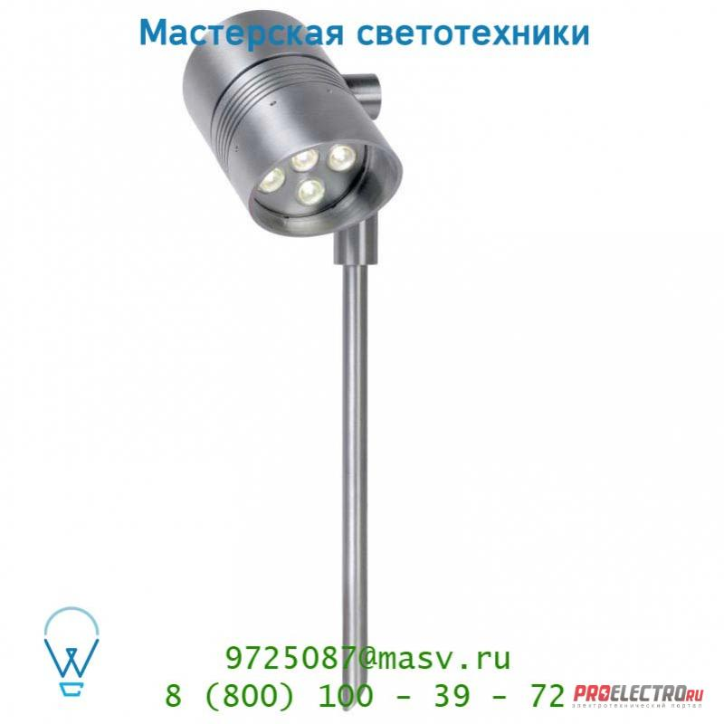 Lucide STEP Spot Tige LED 6W IP54 4000K 600LM Alu уличный светильник 10877/06/12