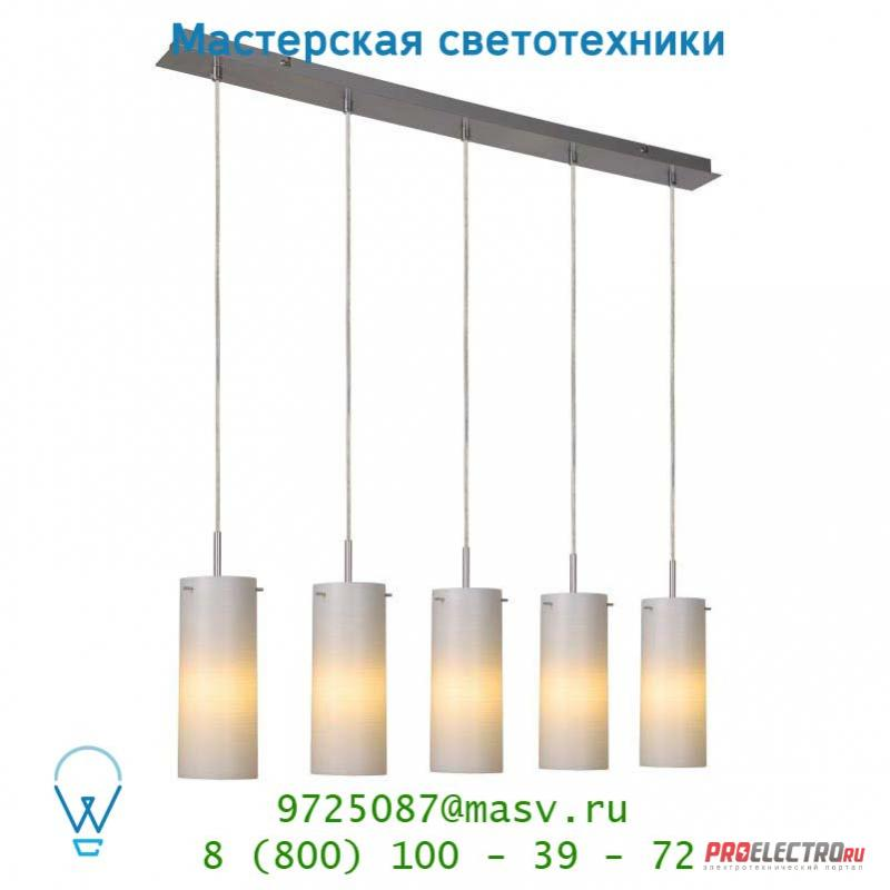 Lucide MISTO Hangel. 5xE14/9W incl Glas H25 D10 Weiss подвесной светильник 12421/25/61