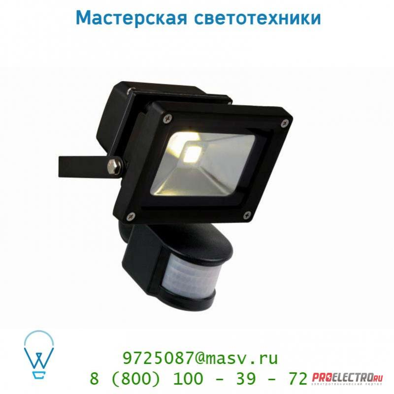 Уличный светильник Lucide LED-FLOOD-IR 10W 700LM 4200K IP54 Schwarz 14801/10/30