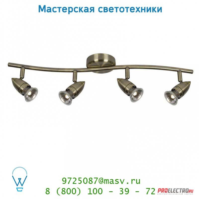13955/24/03 спот Lucide CARO-BIS Spot <strong>BOGE</strong> 4xGU10/50W Bronze