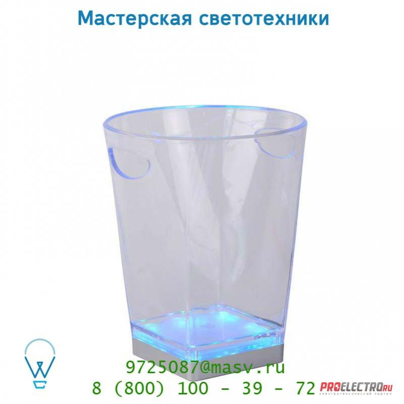 13502/01/60 настольная лампа Lucide ICE-BUCKET LED Ø22.5 H28cm Transparent