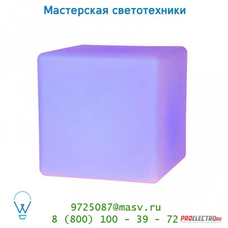 Уличный светильник Lucide LED DICE Kubus 40cm IP54 RGB Remote C Weiss 13805/40/61