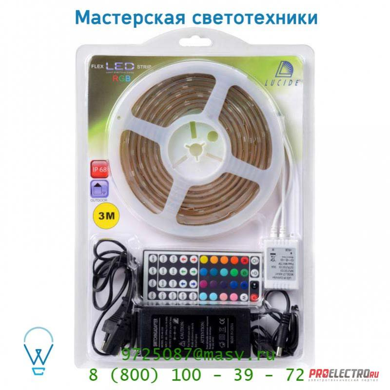 Уличный светильник 14253/03/99 Lucide LED Strip+ remote controller <strong>3M</strong> Outdoor Blister RG