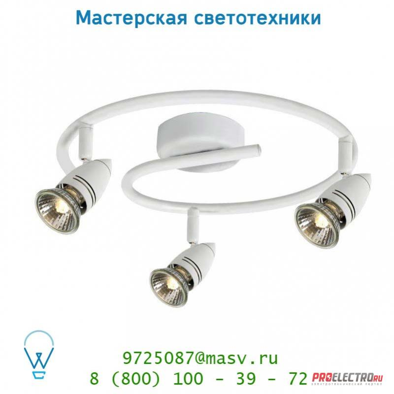 13955/33/31 спот Lucide CARO-BIS Spot <strong>BOGE</strong> 3xGU10/50W Weiss