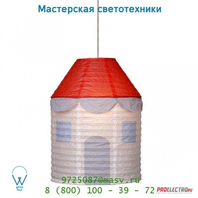 Lucide Paper-Ball Haus D30cm E27 Rot 14478/30/32 подвесной светильник