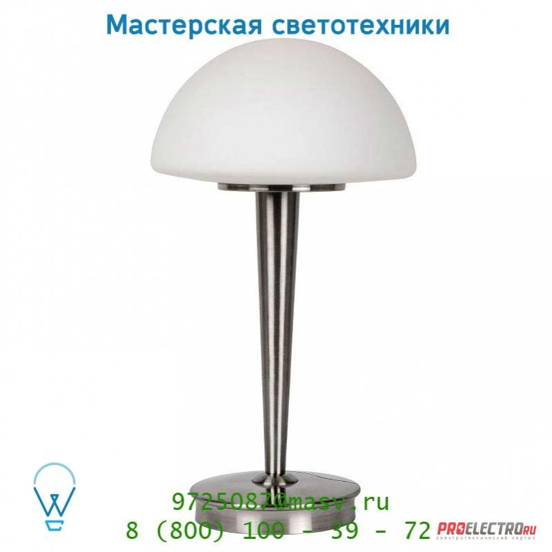 Lucide TOUCH tischl. E14 Ø23 Opal Glass/Mattes Chrome 17553/01/12 настольная лампа