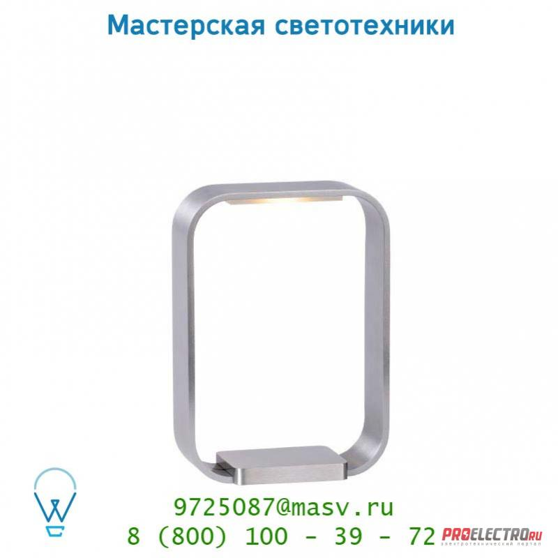 Настольная лампа 17576/06/12 Lucide LED HOLE Tischl. Touch 6W 6.5/14/20cm Alu