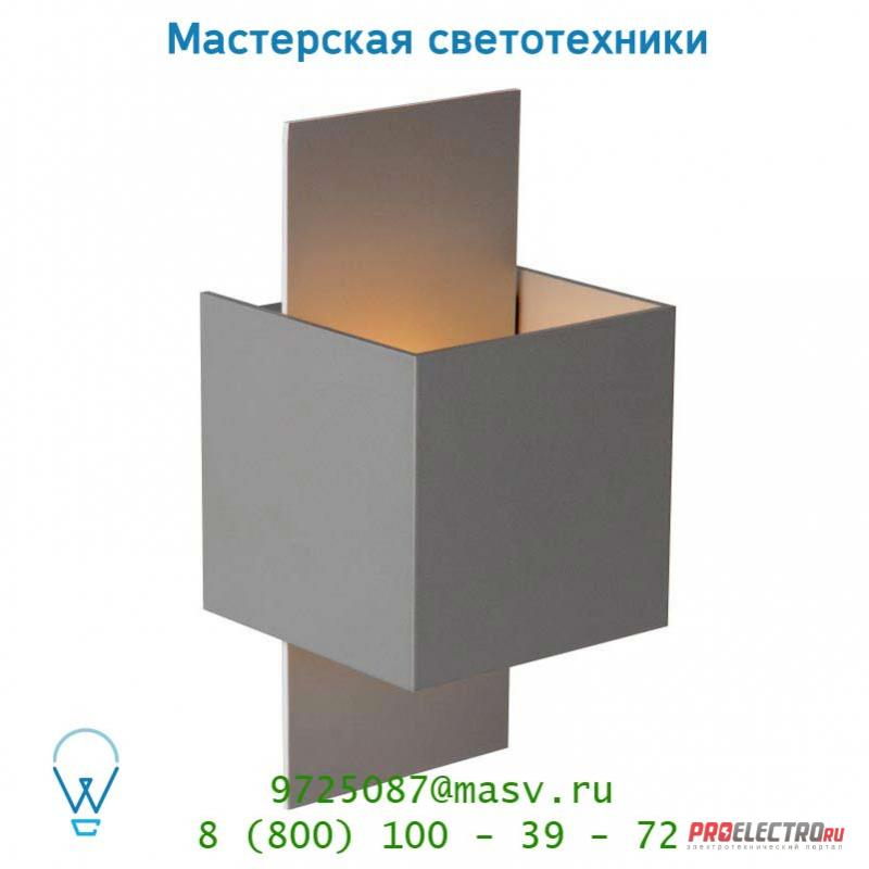 Настенный светильник Lucide CUBO Wandl. 1xG9/40W in Silber Gr/out Silber Gr 23208/36/36