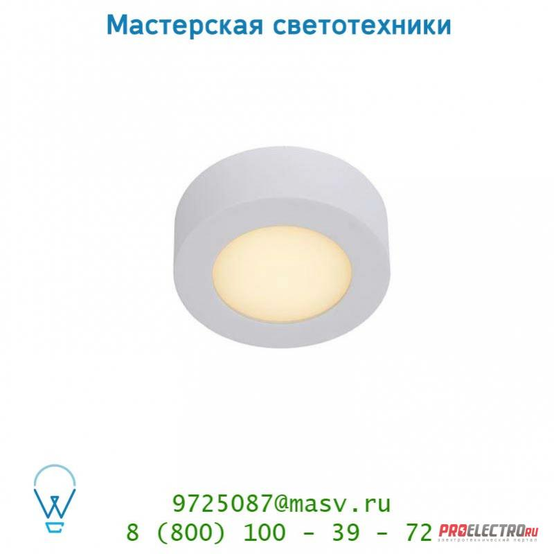 28106/11/31 Lucide BRICE-LED Deckenl. Dimmabel 8W Ø11.5cm IP40 потолочный светильник