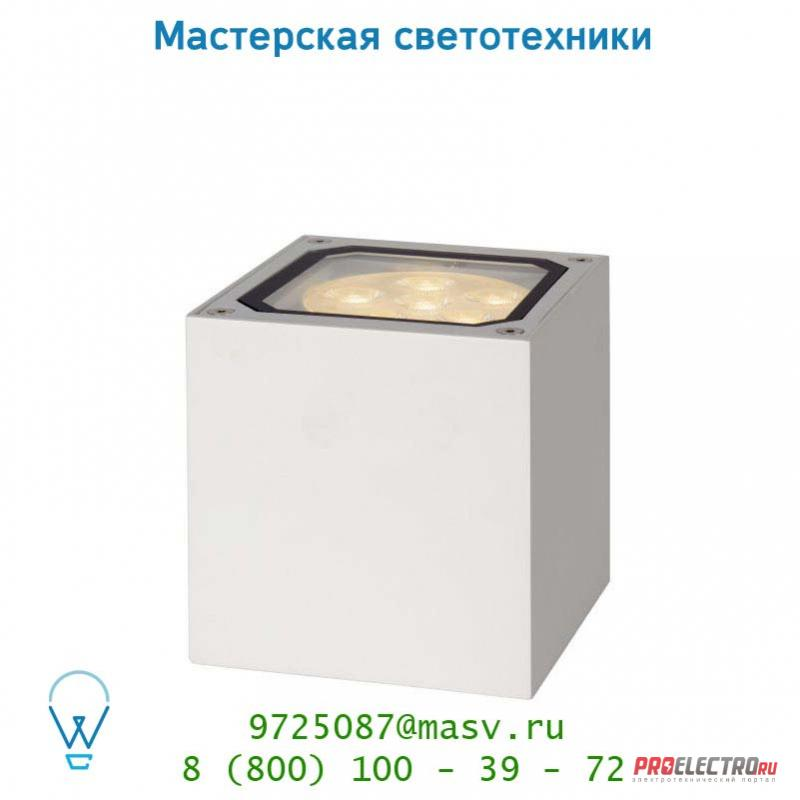 27859/12/31 Lucide LED-BOX Wandleuchte 12W 4000K IP54 WeisS уличный светильник