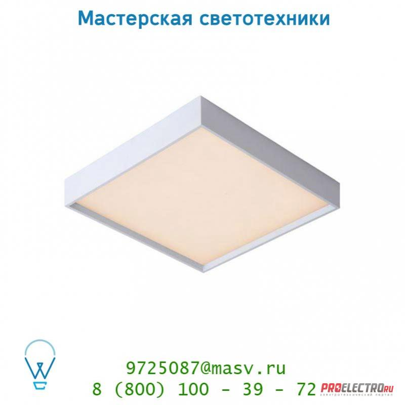 Lucide SKY-LED Viereck Built-Up 31/31/5cm 3000K Dimmable 28911/31/31 потолочный светильник