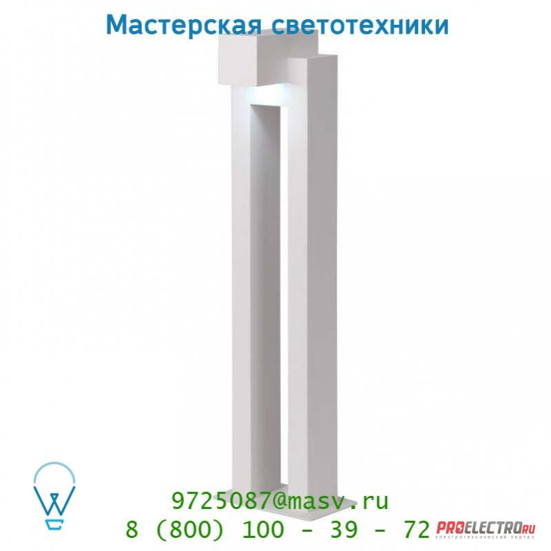 28852/60/31 Lucide KWINTO Pfalh IP54 LED 1x3W H60 L15.5cm Weiss уличный светильник