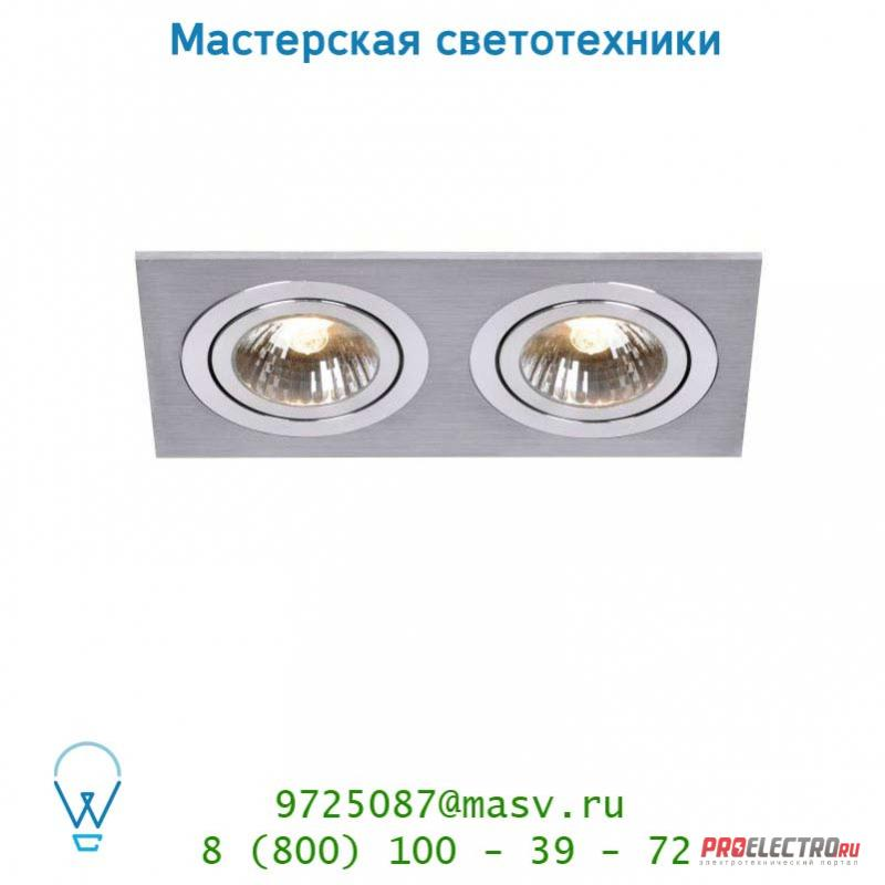 Lucide CHATTY Spot 2xGU10/50W excl. Mattes Chroom 28901/02/12 спот