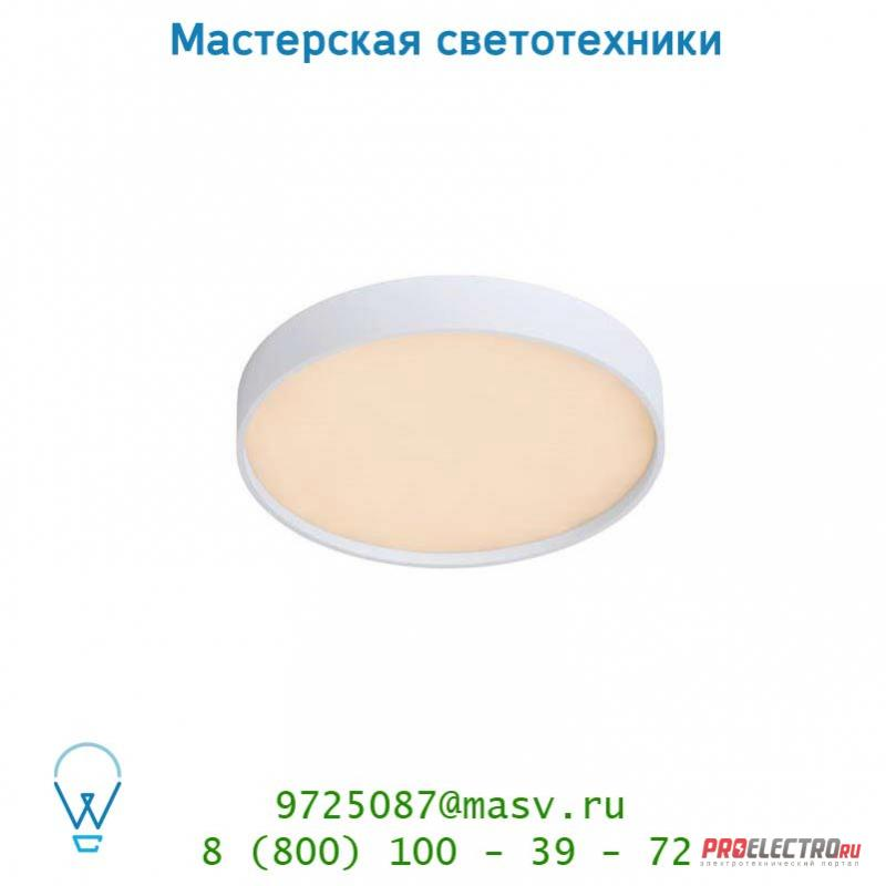 Потолочный светильник 28910/31/31 Lucide SKY-LED Rund Built-Up D30cm 28W 3000K Dimmable Wei